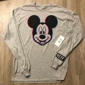 🆕 Neff Disney Collection Mickey Mouse Long Sleeve